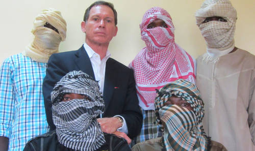 Australian-negotiator-Dr.-Stephen-Davis-and-Boko-Haram-commanders-in-2013-after-BH-reportedly-agreed-to-dialogue