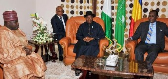 Photo of the century- Dis Presido carry Boko Haram Sheriff go Chad security meeting